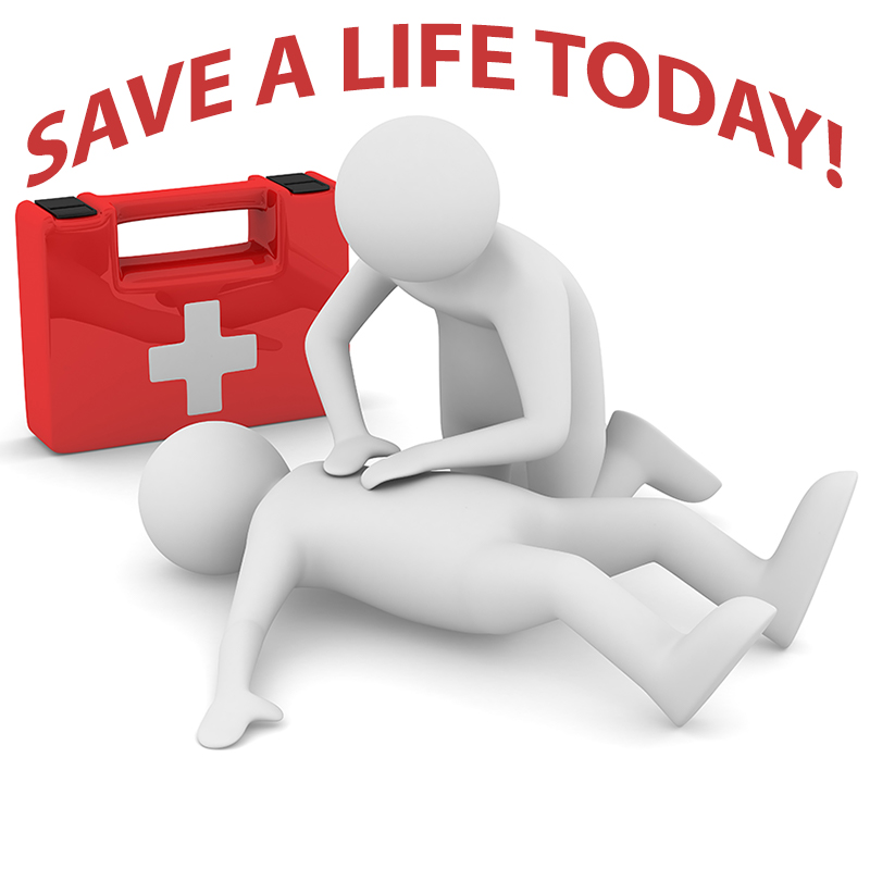 Save a Life with CPR and First Aid